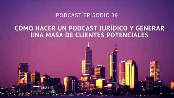 podcast jurídico