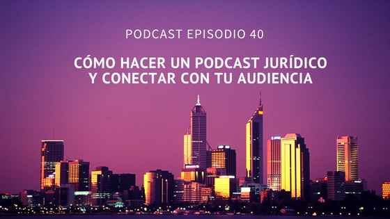 podcast juridico